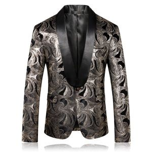 Other - Mens Floral Printed Blazer